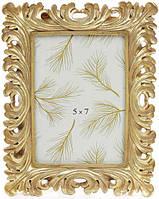 Фоторамка Золотые кораллы для фото 13х18см состаренное золото BD-450-142