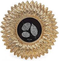 Фоторамка Золотая астра для фото 10х10см состаренное золото BD-450-147