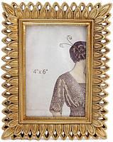 Фоторамка Глория для фото 10х15см золото BD-450-173