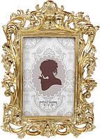 Фоторамка Лувр для фото 10х15см золото BD-450-188