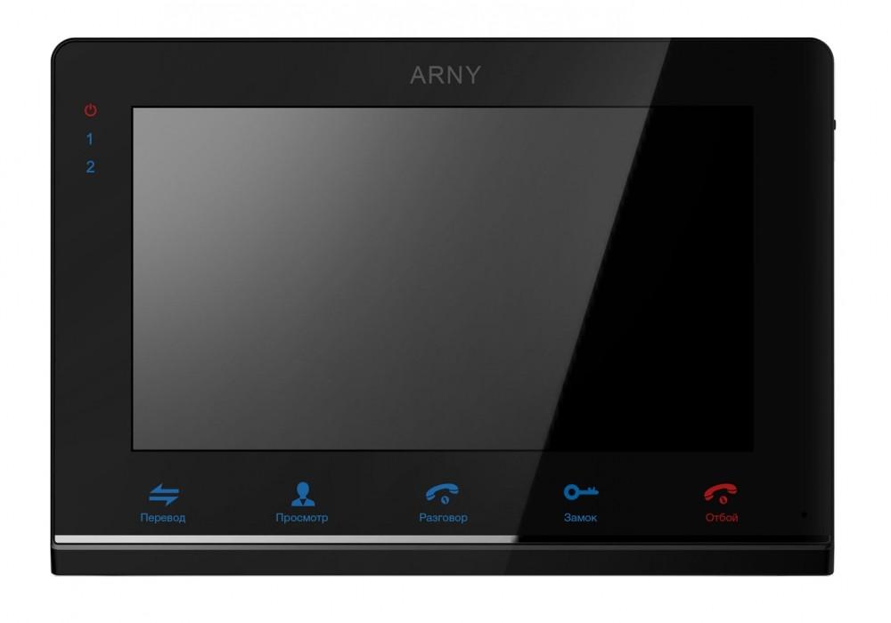 Відеодомофон ARNY AVD-710 (2Mpx) IPS з пам'ятю та детектором руху