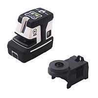 Уровень лазерный TOP-MARK 1H/1V/5D-60, зеленый с адаптером 149-AP