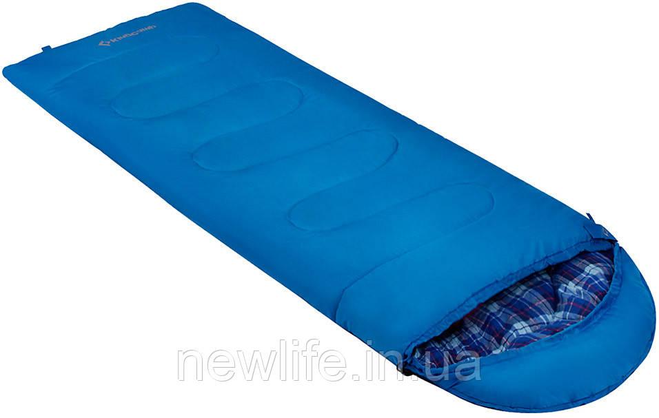 Спальний мішок KingCamp Oasis 250XL(KS3222) (ліва, blue)