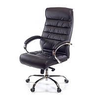 Кресло АКЛАС Камиль CH MB Черное (натуральная кожа), фото 1