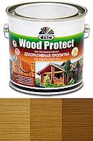 Просочення декоративне DE Wood Protect дуб 2,75 л