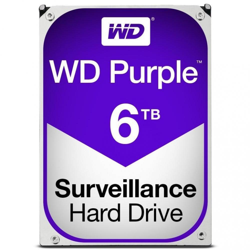 Жесткий диск 6TB Western Digital WD60PURZ для видеонаблюдения
