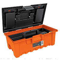 Кейс для инструментов, Extra-Wide оранжевый с органайзером 360х200х170, 0,8 кг