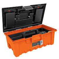 Кейс для инструментов, Extra-Wide оранжевый с органайзером 560х320х2870 2,2 кг
