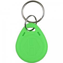 Брелок RFID KEYFOB EM RW-Green