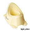 Горшок антискольз. муз. Tega Duck PO-070 light yellow