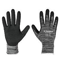 Перчатки нейлон, нитриловые покрытия, L