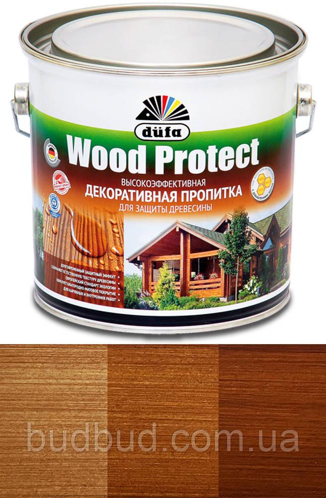 Пропитка декоративная DE Wood Protect тик 2.5 л