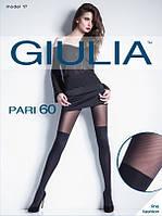 Колготки с имитацией чулок (ботфортов) Giulia. Размер: 3.