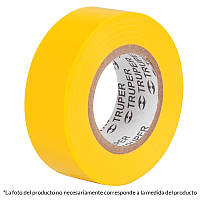 Изолента, акрил, желтая 19мм х 18м