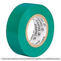 Изолента, акрил, зеленый 19мм х 18м