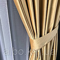 Готовые шторы для зала спальни, шторы на трубной ленте в комнату хол зал квартиру, шторы бархатные для спальни, фото 8
