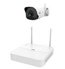 Комплект відеоспостереження Wi-Fi IP Uniview KIT/NVR301-04LB-W/1*2122SR3-F40W-D