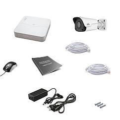 Комплект IP видеонаблюдения Uniview 1OUT 2MEGA