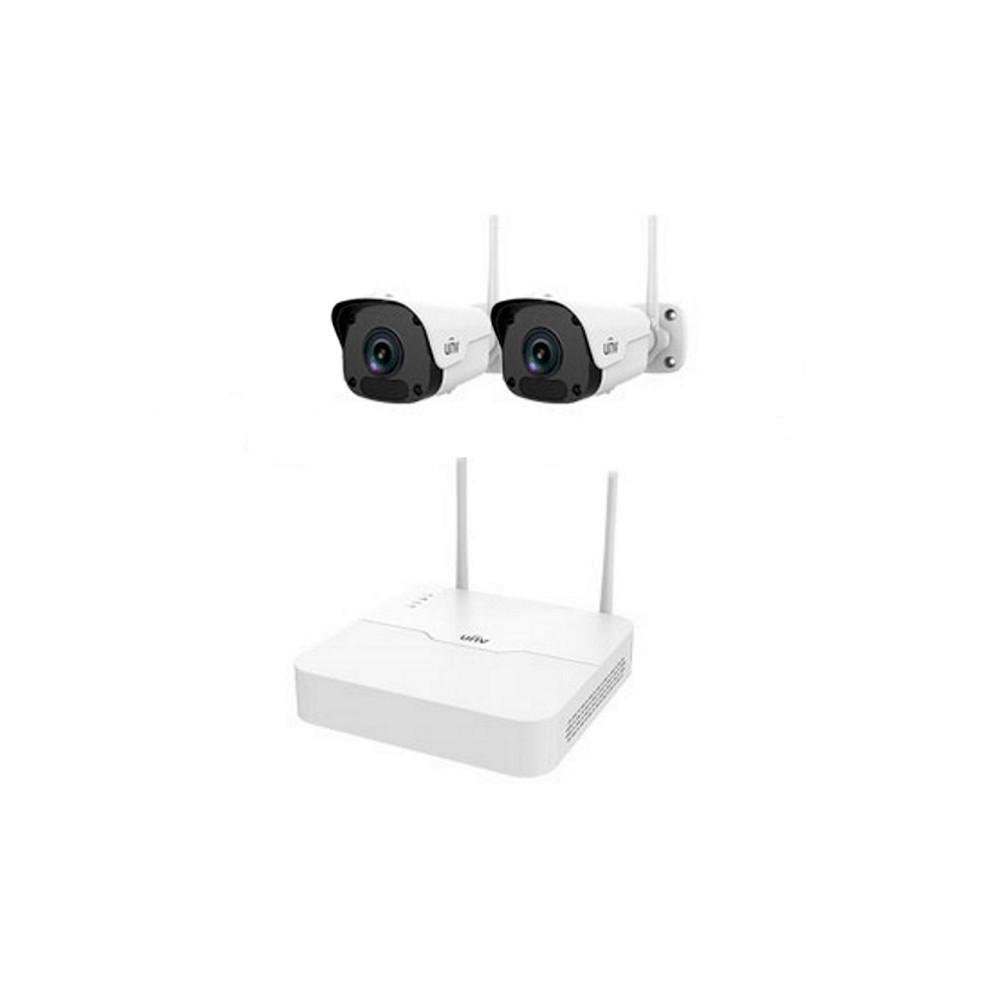 Комплект відеоспостереження Wi-Fi IP Uniview KIT/NVR301-04LB-W/2*2122SR3-F40W-D