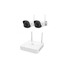 Комплект видеонаблюдения Wi-Fi IP Uniview KIT/NVR301-04LB-W/2*2122SR3-F40W-D