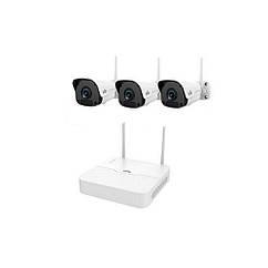 Комплект видеонаблюдения Wi-Fi IP Uniview KIT/NVR301-04LB-W/3*2122SR3-F40W-D