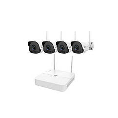 Комплект відеоспостереження Wi-Fi IP Uniview KIT/NVR301-04LB-W/4*2122SR3-F40W-D