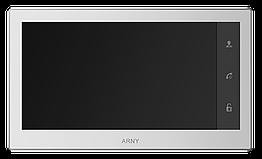 Відеодомофон Arny AVD-740 з сенсорним екраном, пам'ятю та детектором руху