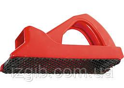 Рубанок MATRIX 140х42 мм обдирний пластмасовий для гіпсокартону