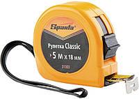 Рулетка SPARTA Classic, 7.5 м х 24 мм, пластиковый корпус