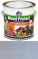 Просочення декоративне DE Wood Protect білий 0.75 л