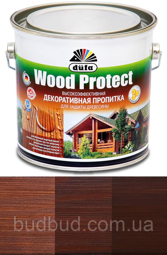Пропитка декоративная DE Wood Protect махагон 2,5 л