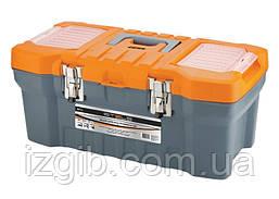 """Ящик для інструменту з мет. замками STELS 16"""" 17,5х21х41"""