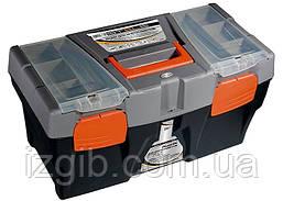 """Ящик для инструмента STELS 590 х 300 х 300 мм (24""""), пластик"""