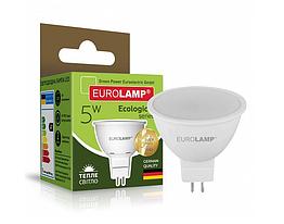 Точечная светодиодная EUROLAMP LED Лампа EKO MR16 5W GU5.3 4000K