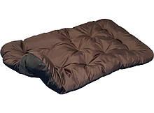 Лежак лежанка спальное место для Животных Двусторонний Коричневый + Черный