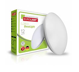 Светодиодный светильник EUROLAMP круглый DecoLight 12W 4000K (LED-NLR-12W(A))