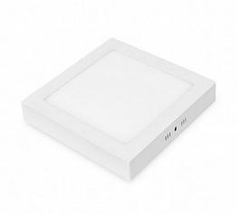 """Светодиодный точечный накладной LED светильник Eurolamp """"квадрат"""" 6W/4000K (LED-NLS-6/4(E)"""