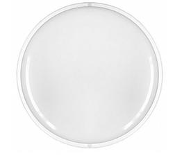 Светодиодный светильник Eurolamp ЖКХ круглый накладной 8W 5500K (LED-NLR-08/55(P)