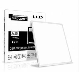 LED промо-набор Eurolamp (панель) 60*60 36W 4000K 2в1 LED-Panel-36/40(110)(2)
