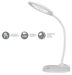 Настольный LED светильник Eurolamp 5W 5300-5700K LED-TLG-4(white)