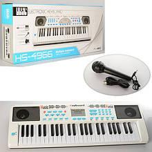 Дитячий синтезатор HS4966B на 49 клавіш