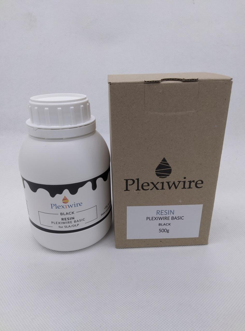 Фотополимерная смола Plexiwire resin basic 0.5 кг черний