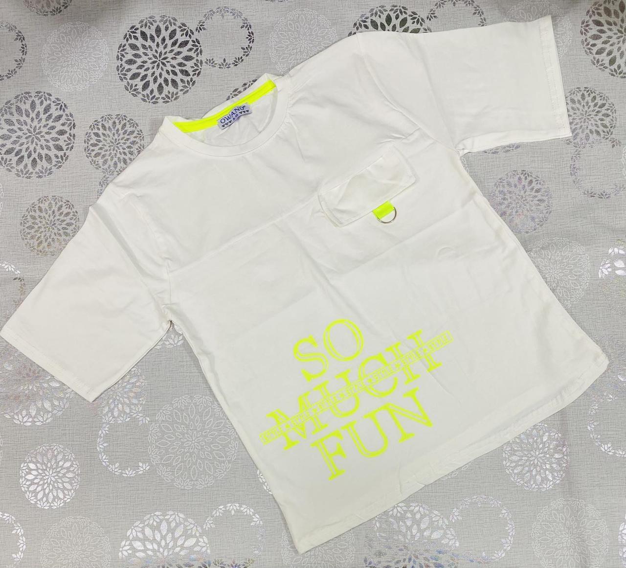 Дитяча футболка для хлопчика р. 5-8 років