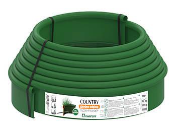 Бордюрна смуга (бордюр) Кантрі Б-1000.2.11-ПП зелена