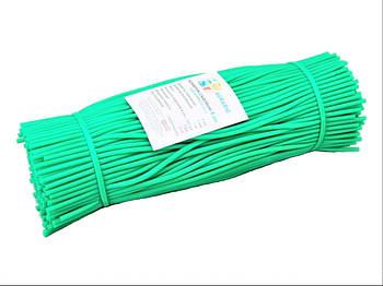 Кембрик - агротрубка нарізна Аграріо (Agrario) 4 мм, 1 кг зелений