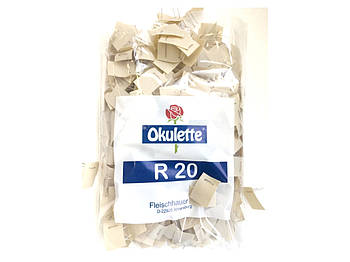 Латка Okulette R 20 / 24*32 мм, 1000 шт для троянд