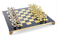 "Шахматы подарочные Manopoulos ""Римляне"" S10BLU"
