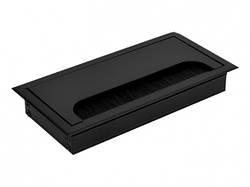 Пропуск для кабелю врізний Virno Lines 80/160 Чорний