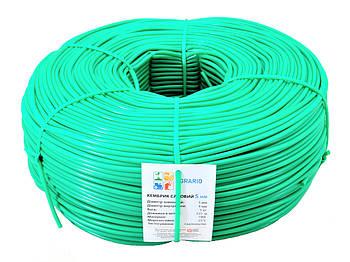 Кембрик - агротрубка Аграріо (Agrario) 5 мм, 5 кг зелений
