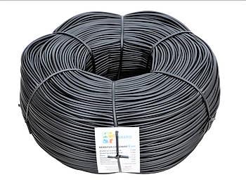 Кембрик - агротрубка чорний в бухті Аграріо (Agrario) 4 мм, 5 кг